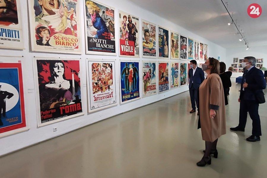 Ocitnite sa v zlatej ére talianskeho filmu: Žilina láka na výstavu s úžasnou atmosférou