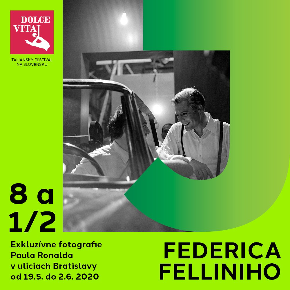 8 a 1/2 Federica Felliniho