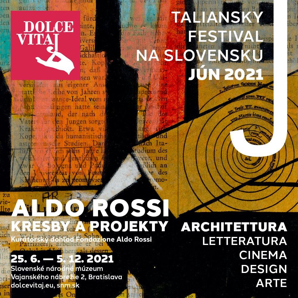 Kresby a projekty slávneho Alda Rossiho po prvý raz v Bratislave