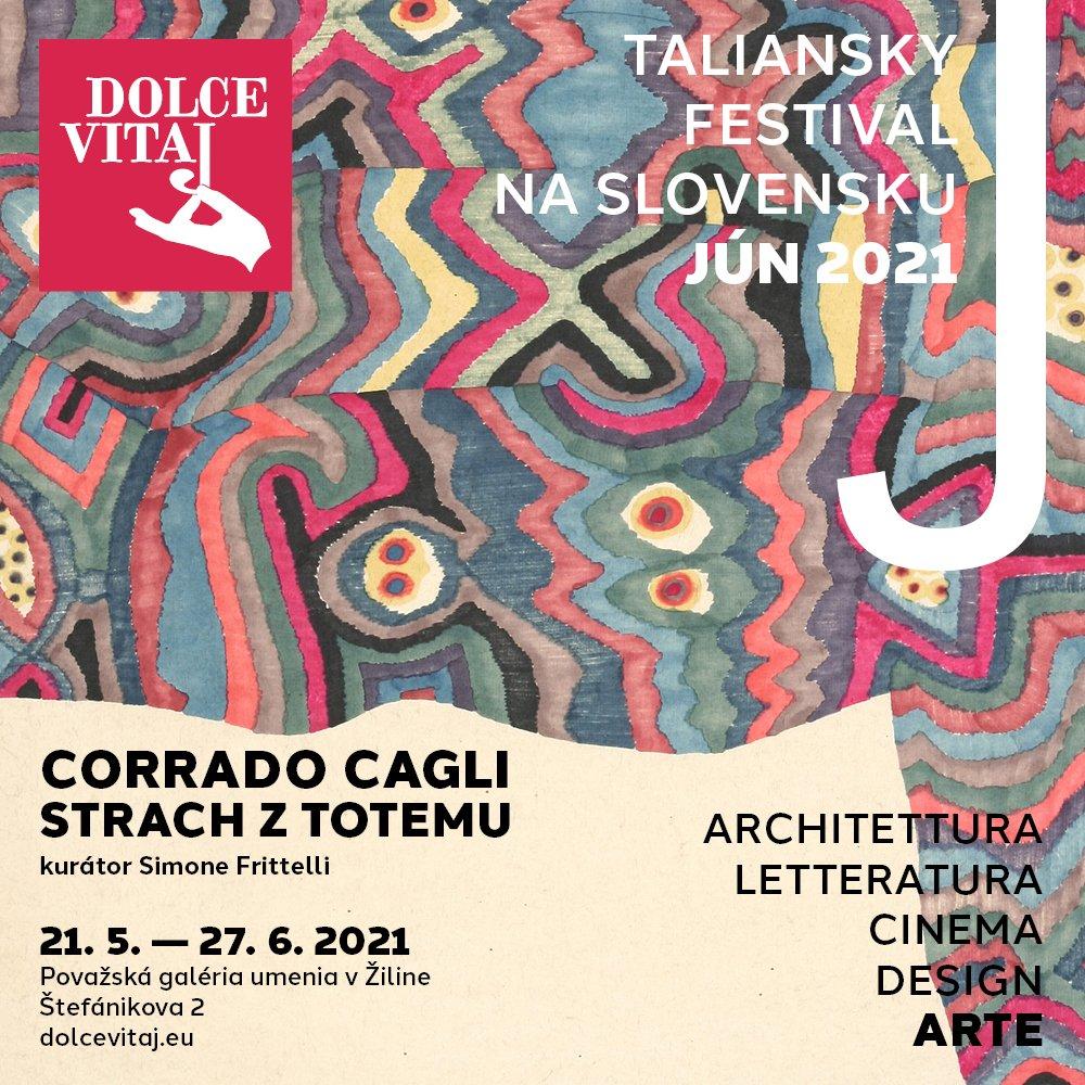Dolce Vitaj 2021 sa začne v Žiline výstavou maliara Corrada Cagliho